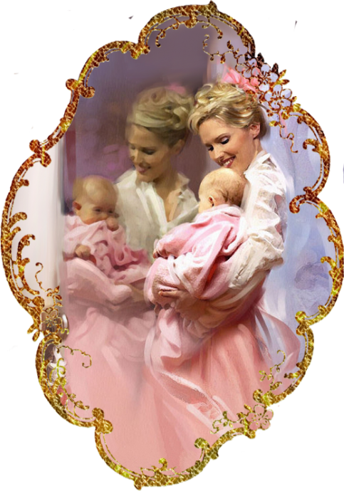 Женщина с ребёнком