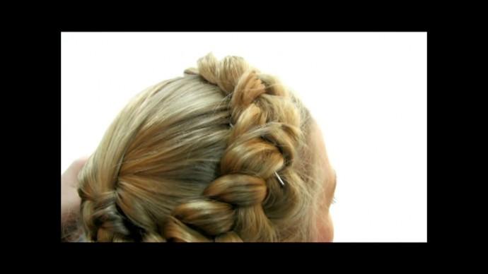 Коса в стиле Юлии Тимошенко