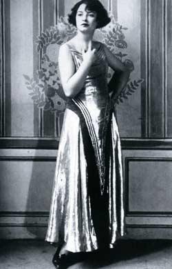 Модель вечернего платья от Пуаре, 1923 год